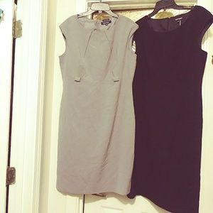 Ladies Gray Boss Lady Business Dress